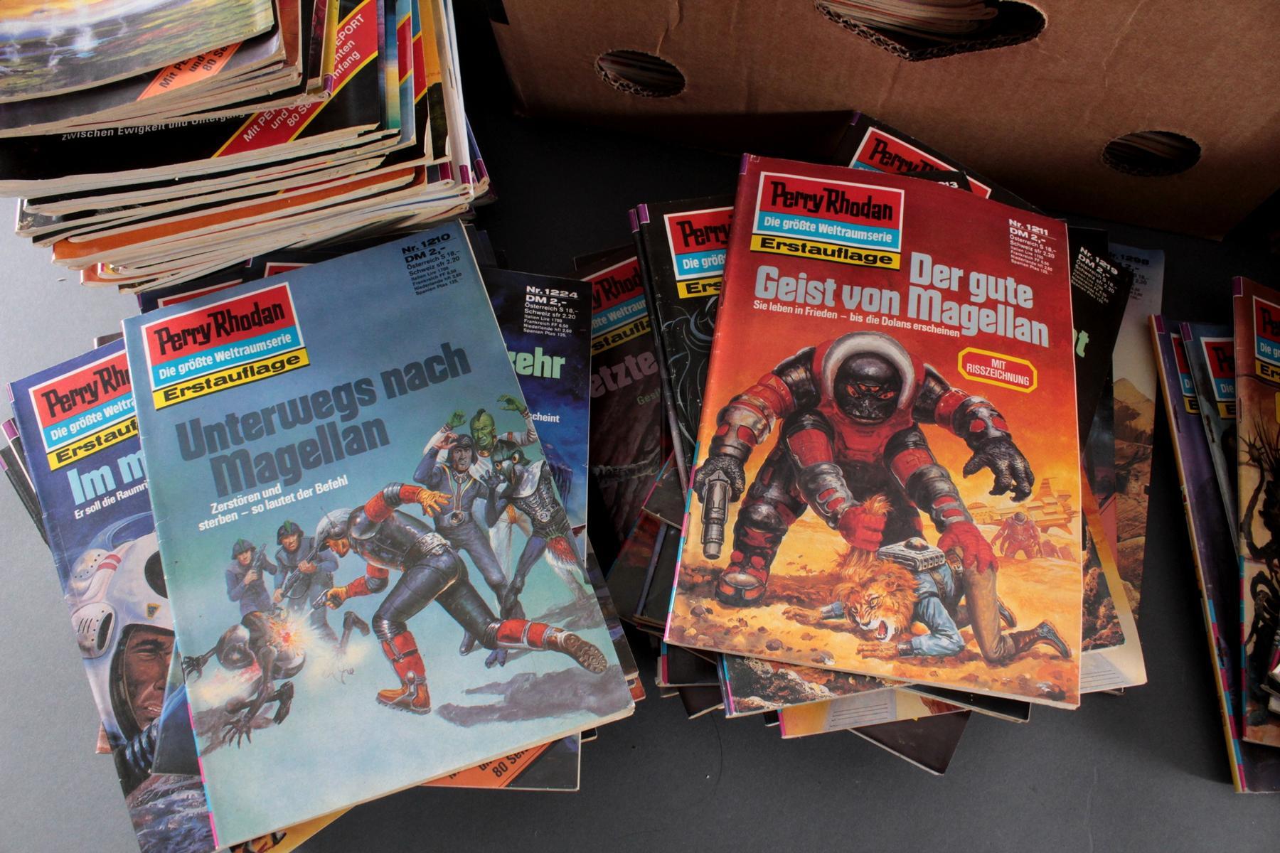 Sammlung Perry Rodan Hefte, dabei auch Erstauflage-4