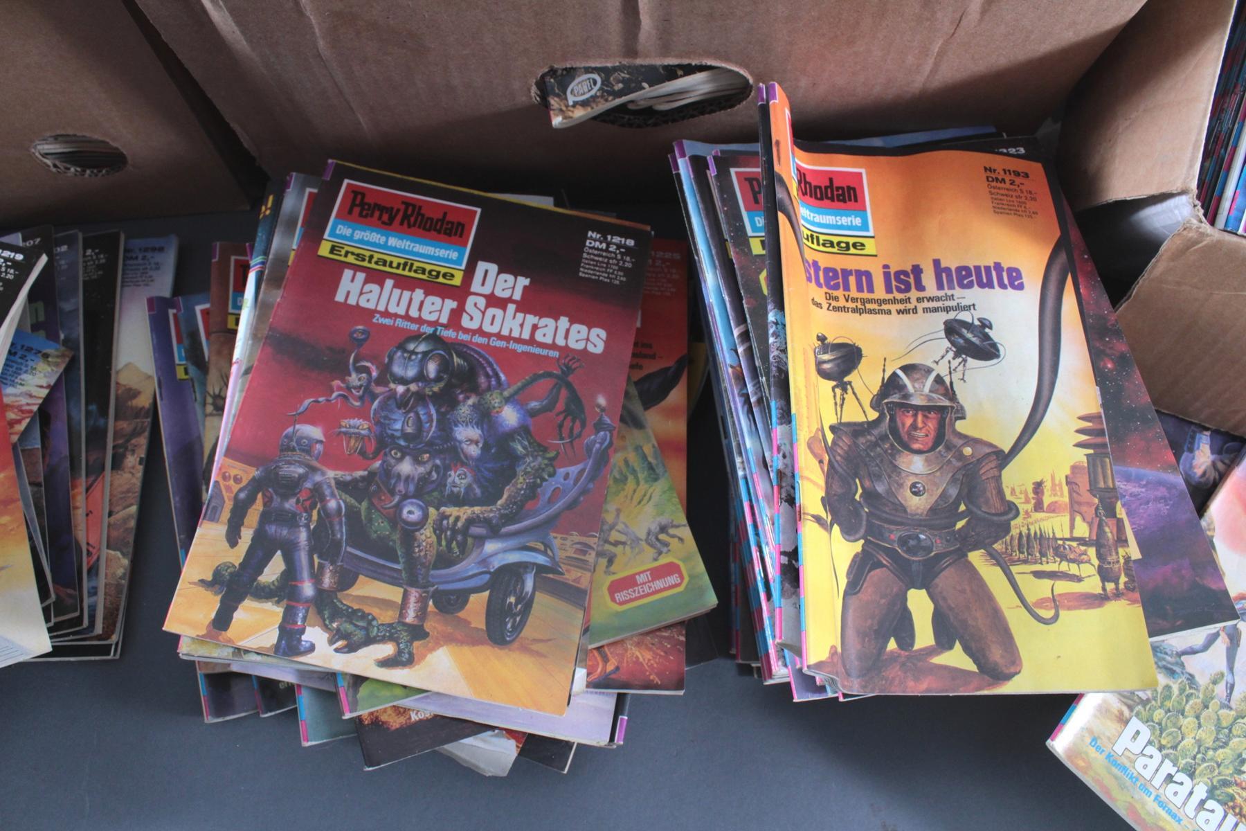 Sammlung Perry Rodan Hefte, dabei auch Erstauflage-5