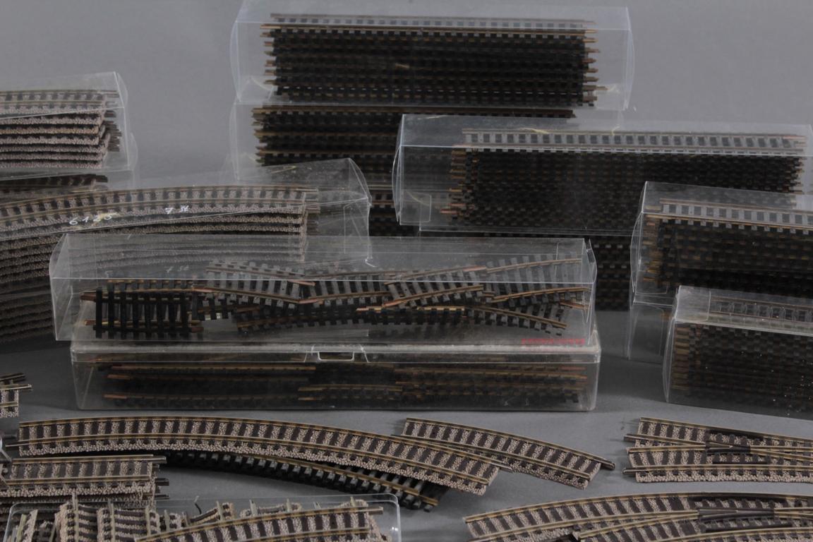 Großes Konvolut Fleischmann Gleismaterial Spur H0-3