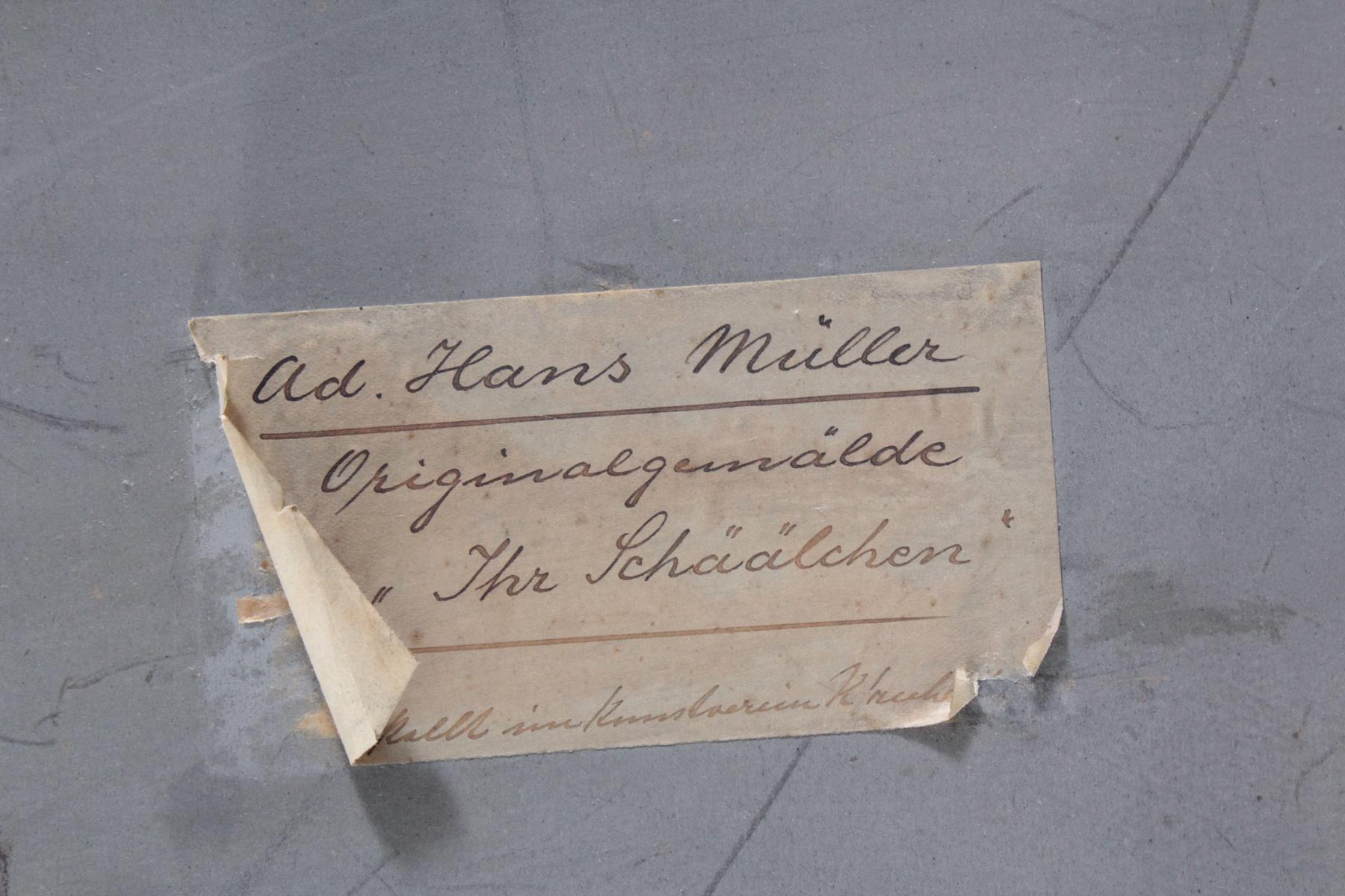 Hans Adolf Müller (1888-1934). 'Ihr Schälchen'-5