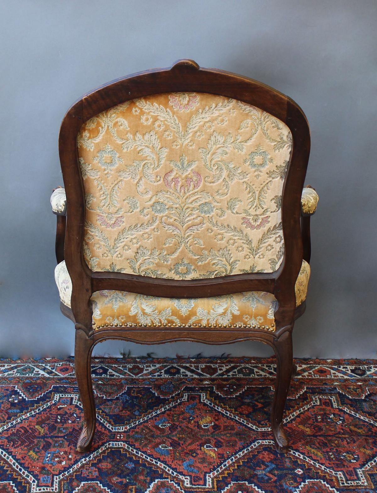 Antiker Sessel aus dem 19. Jahrhundert-4