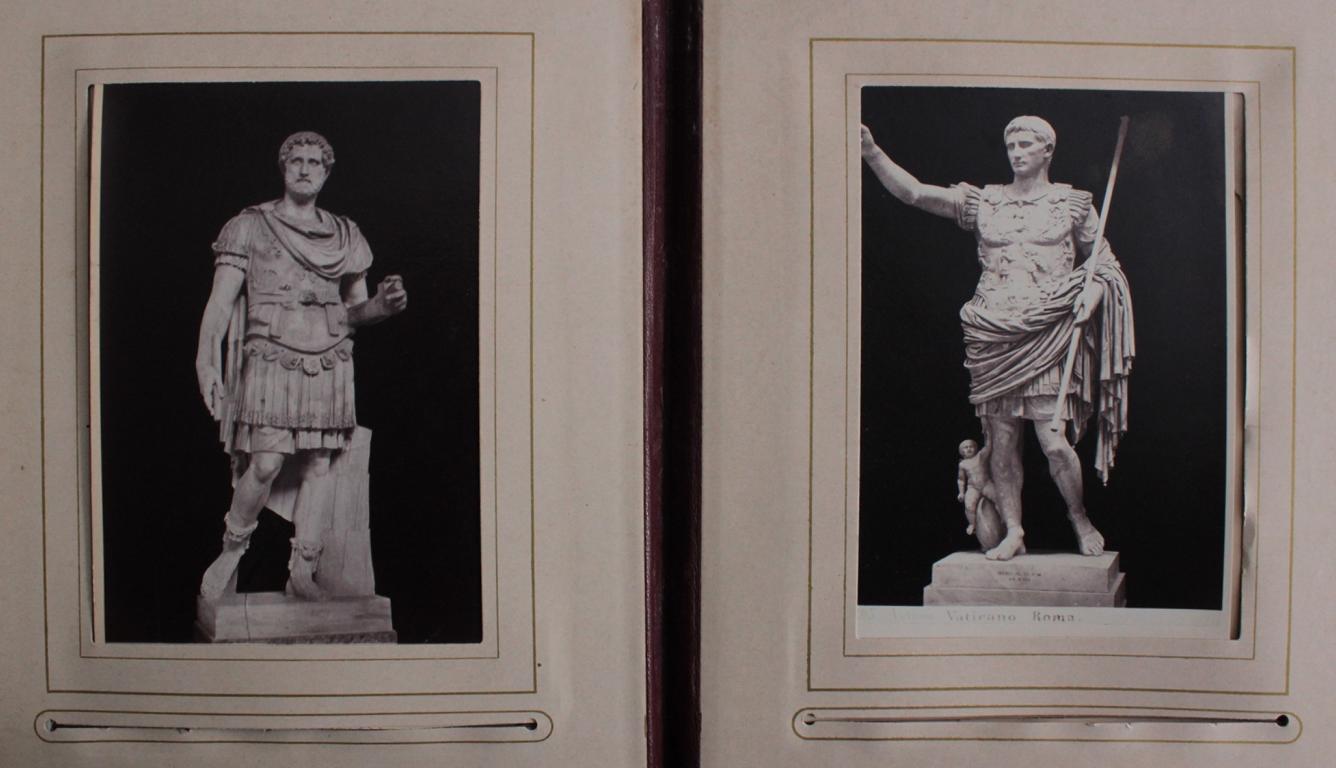 Historismus Fotoalbum um 1880-9