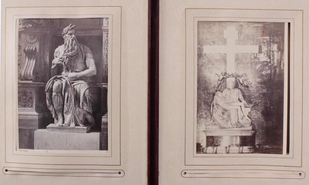 Historismus Fotoalbum um 1880-15