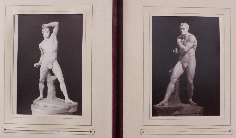 Historismus Fotoalbum um 1880-16