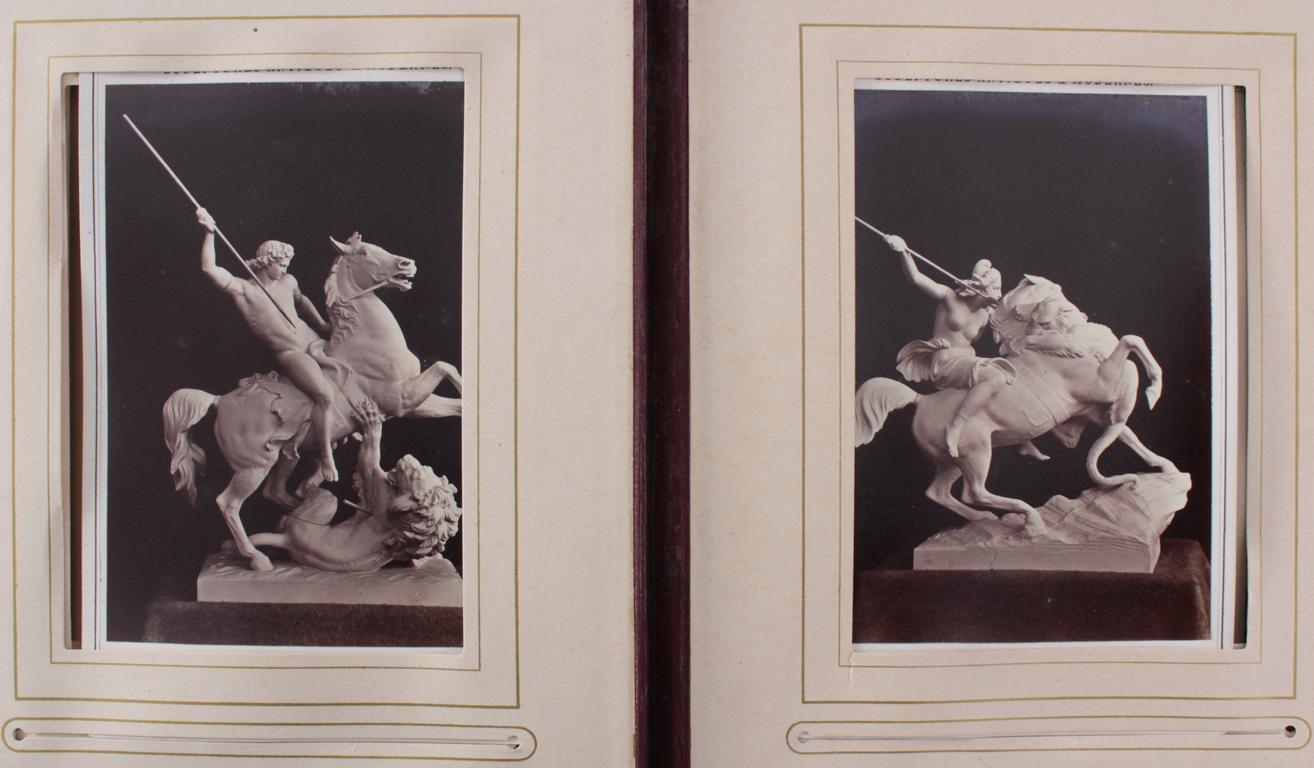 Historismus Fotoalbum um 1880-17