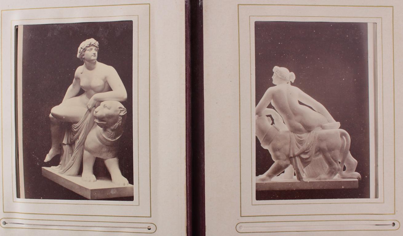 Historismus Fotoalbum um 1880-19