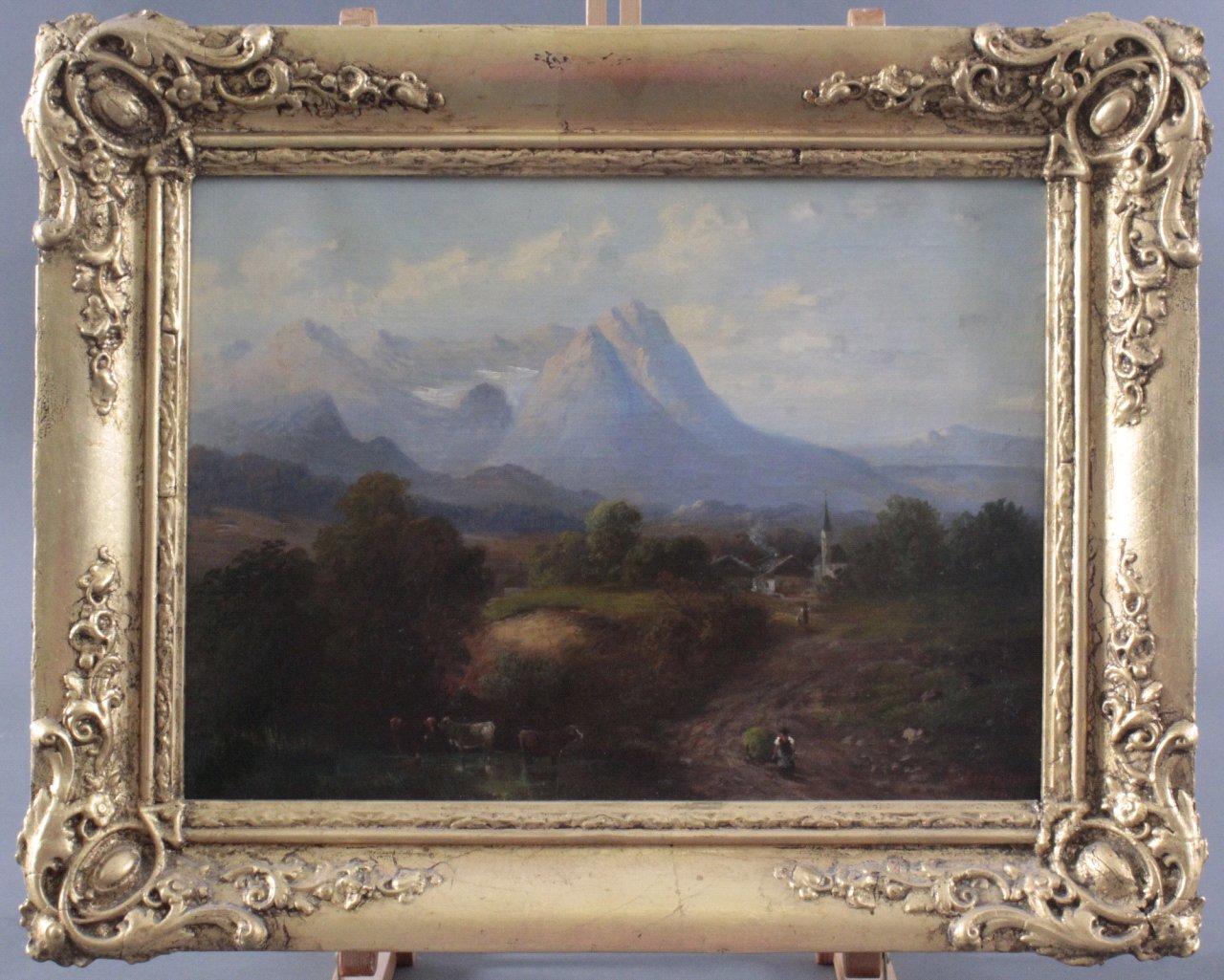 I. Engelmann (Deutscher Maler des 19. Jahrhunderts)