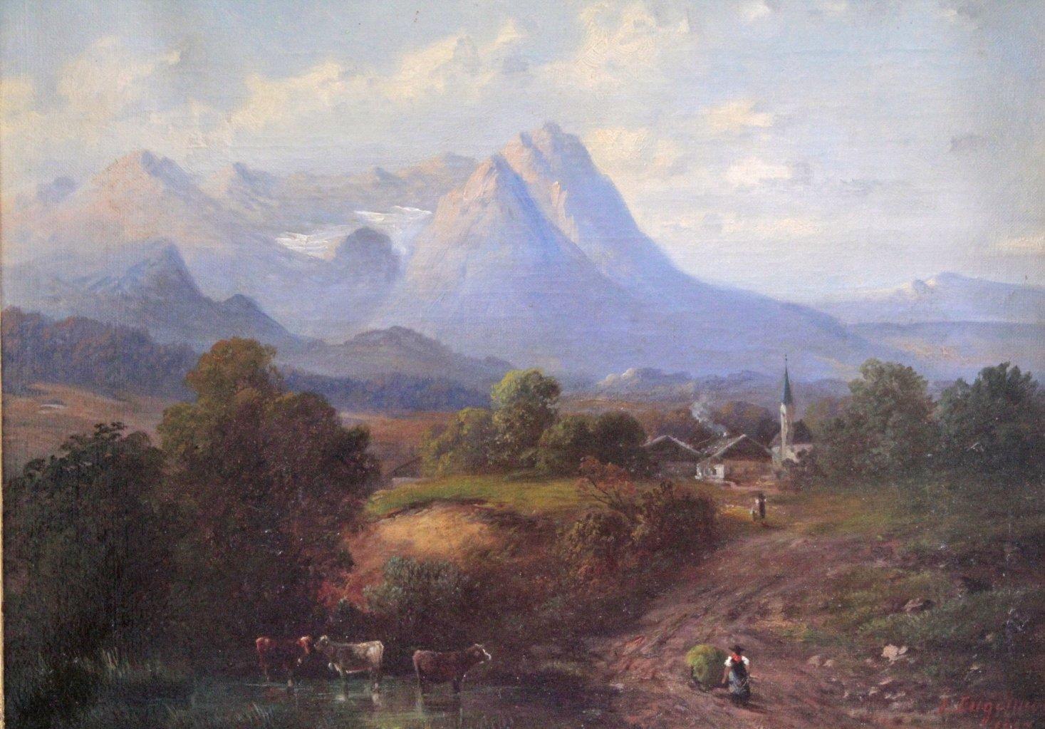 I. Engelmann (Deutscher Maler des 19. Jahrhunderts)-2