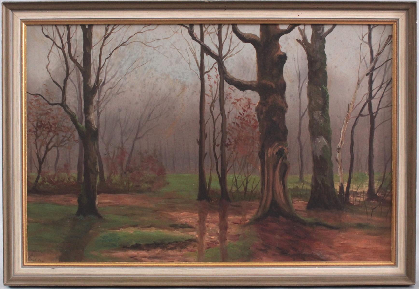J. Rump ?-?. Baltische Landschaft um 1900