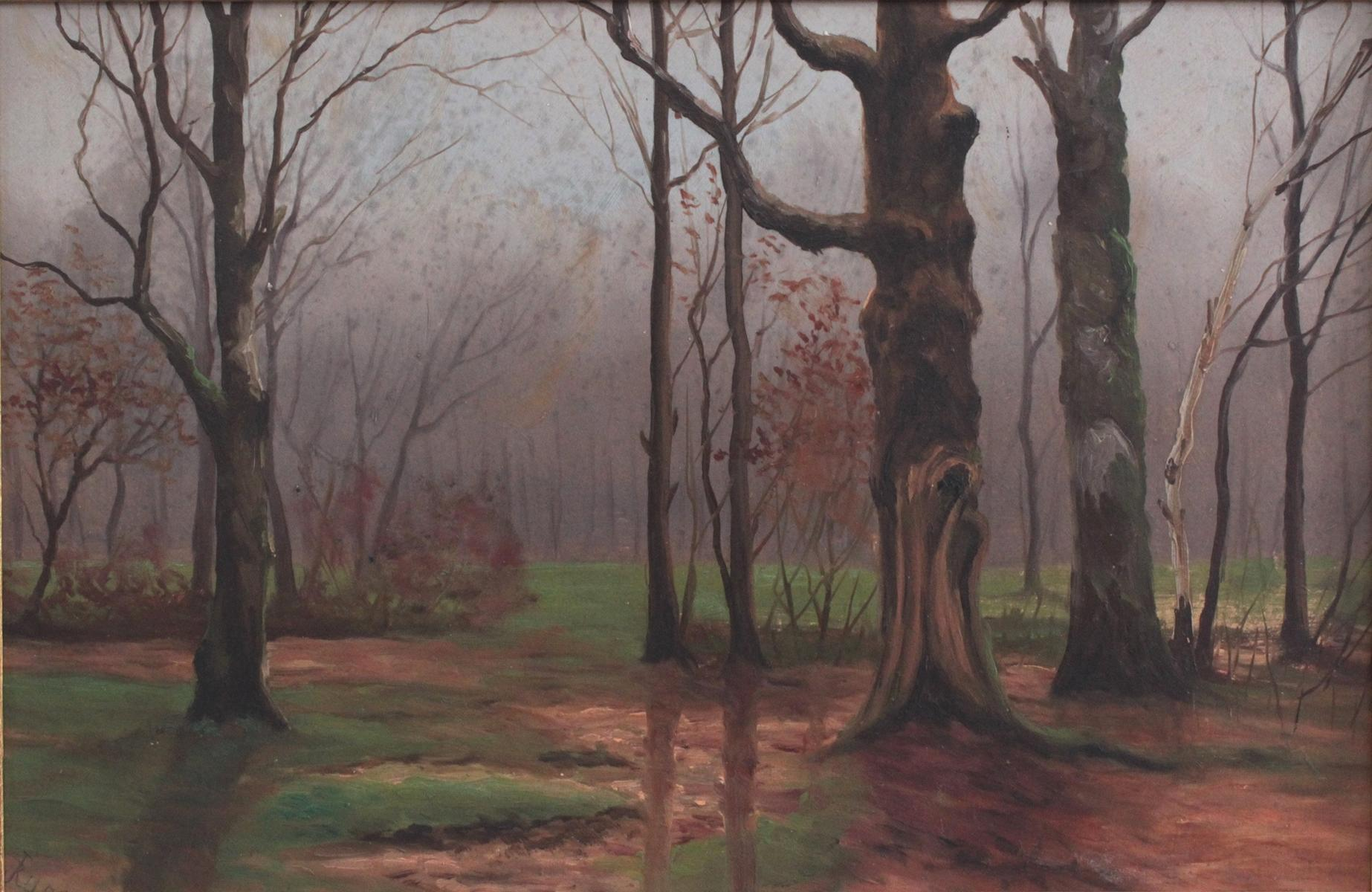 J. Rump ?-?. Baltische Landschaft um 1900-2