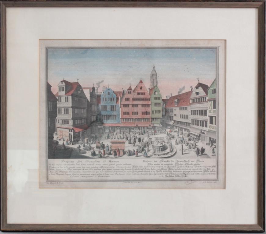Heumann Georg Daniel 1691 – 1759 Hofkupferstecher in Göttingen nach S. Kleiner
