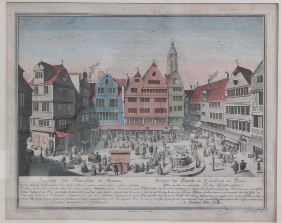 Heumann Georg Daniel 1691 – 1759 Hofkupferstecher in Göttingen nach S. Kleiner-2