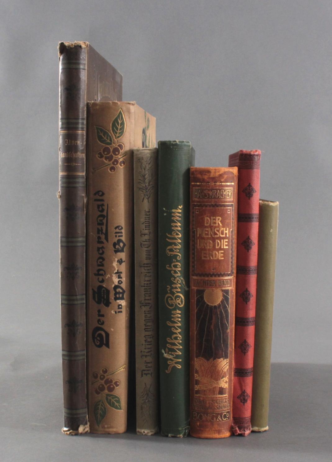 Konvolut Bücher aus der 1. Hälfte 20. Jh.