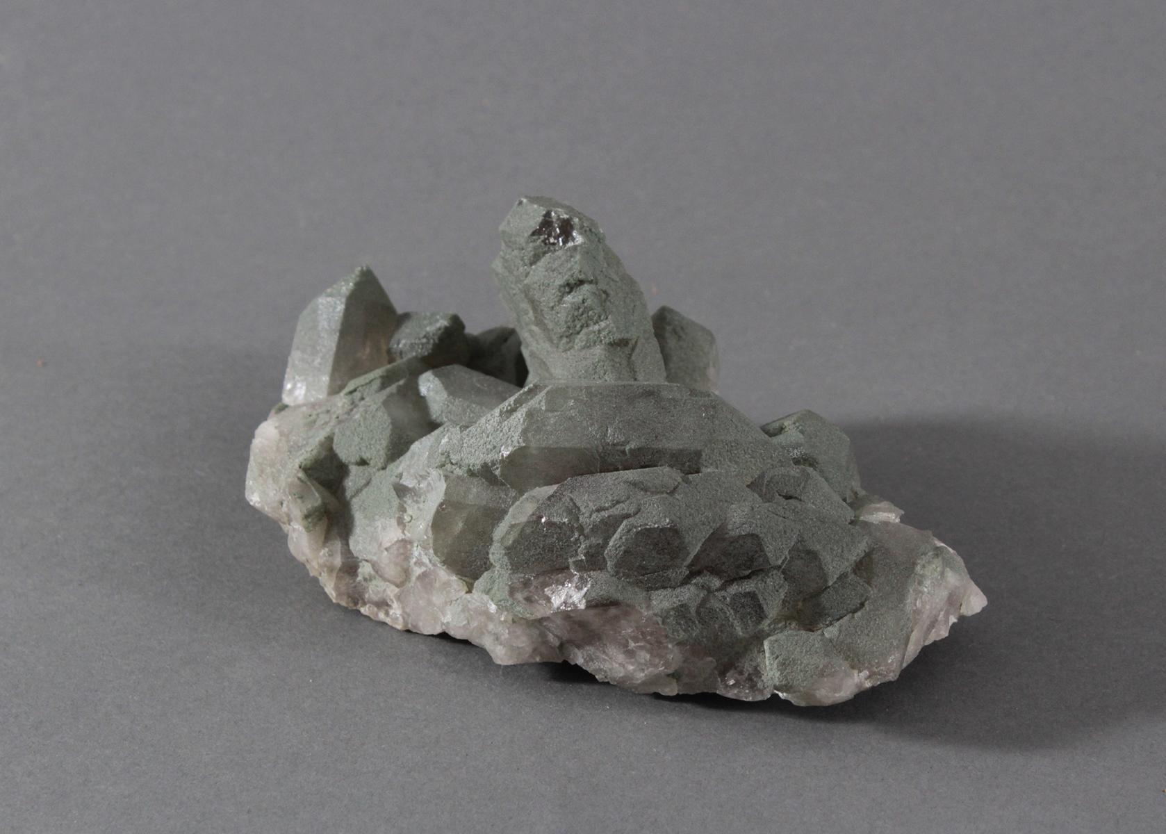 Gwindel-Chlorit cavradi aus Graubünden-3