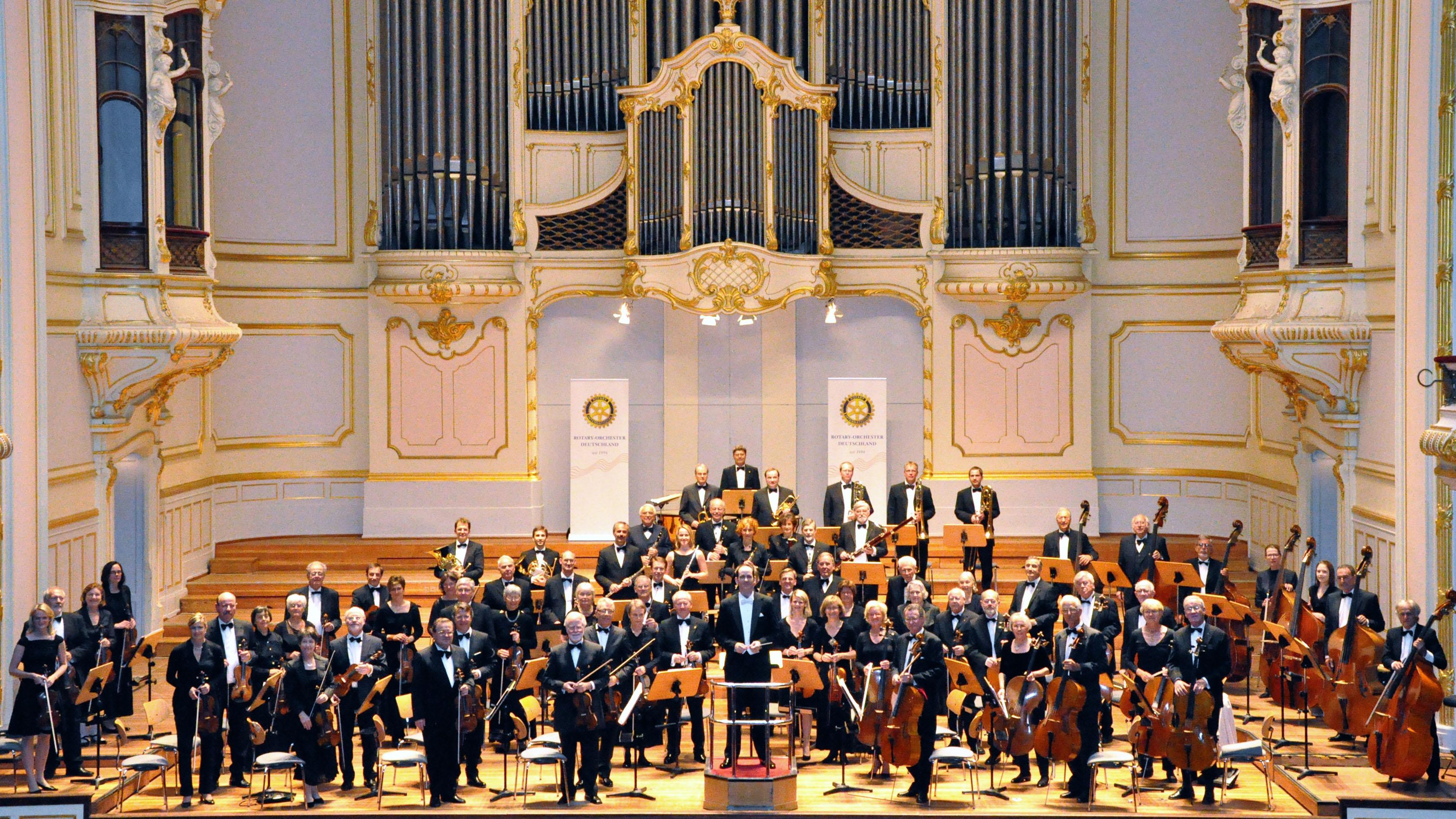 2 Eintrittskarten der 1. Kategorie für das Konzert des Rotary-Orchesters Deutschland