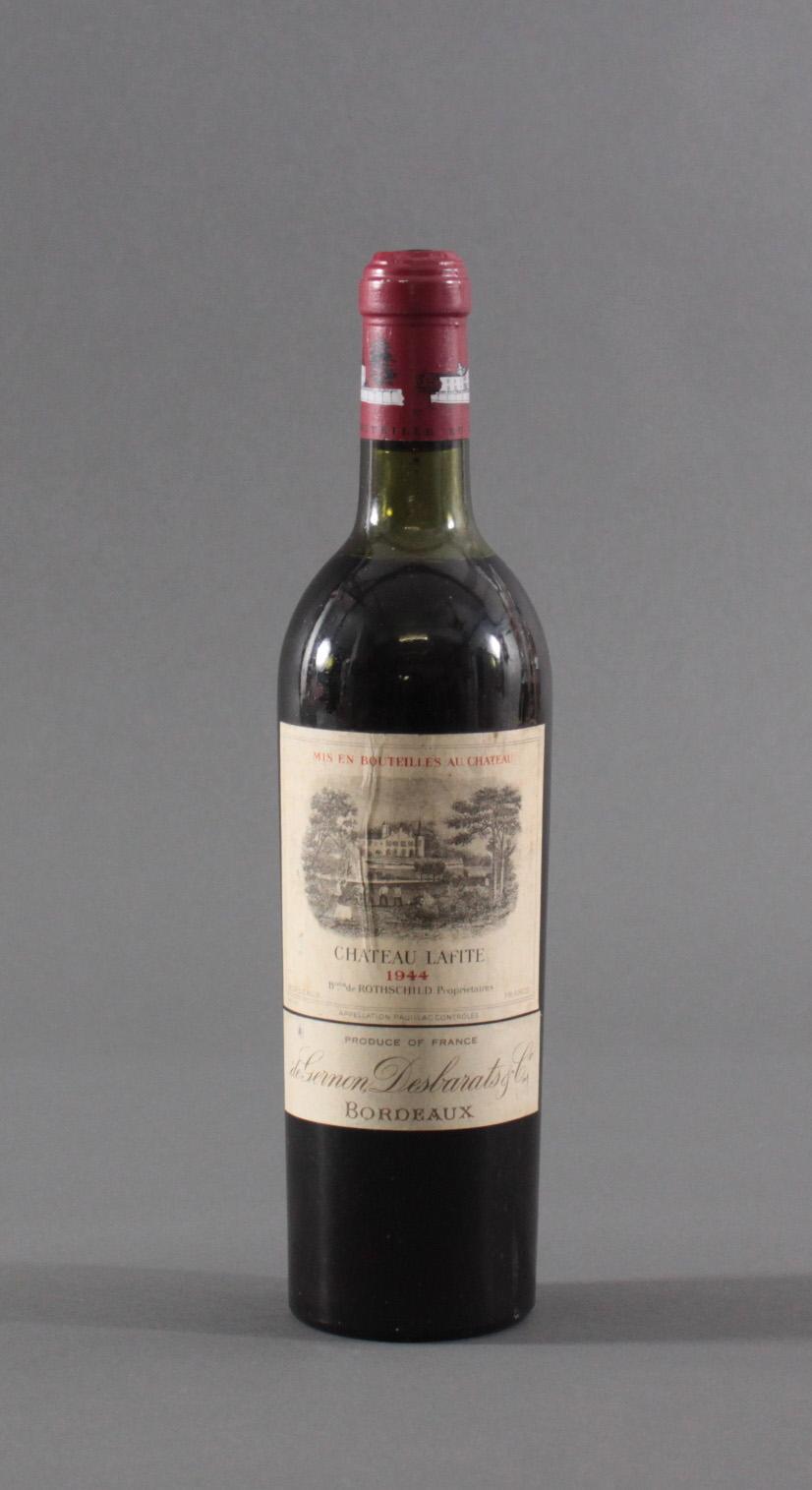 Weinrarität. 1944 Château Lafite Rothschild