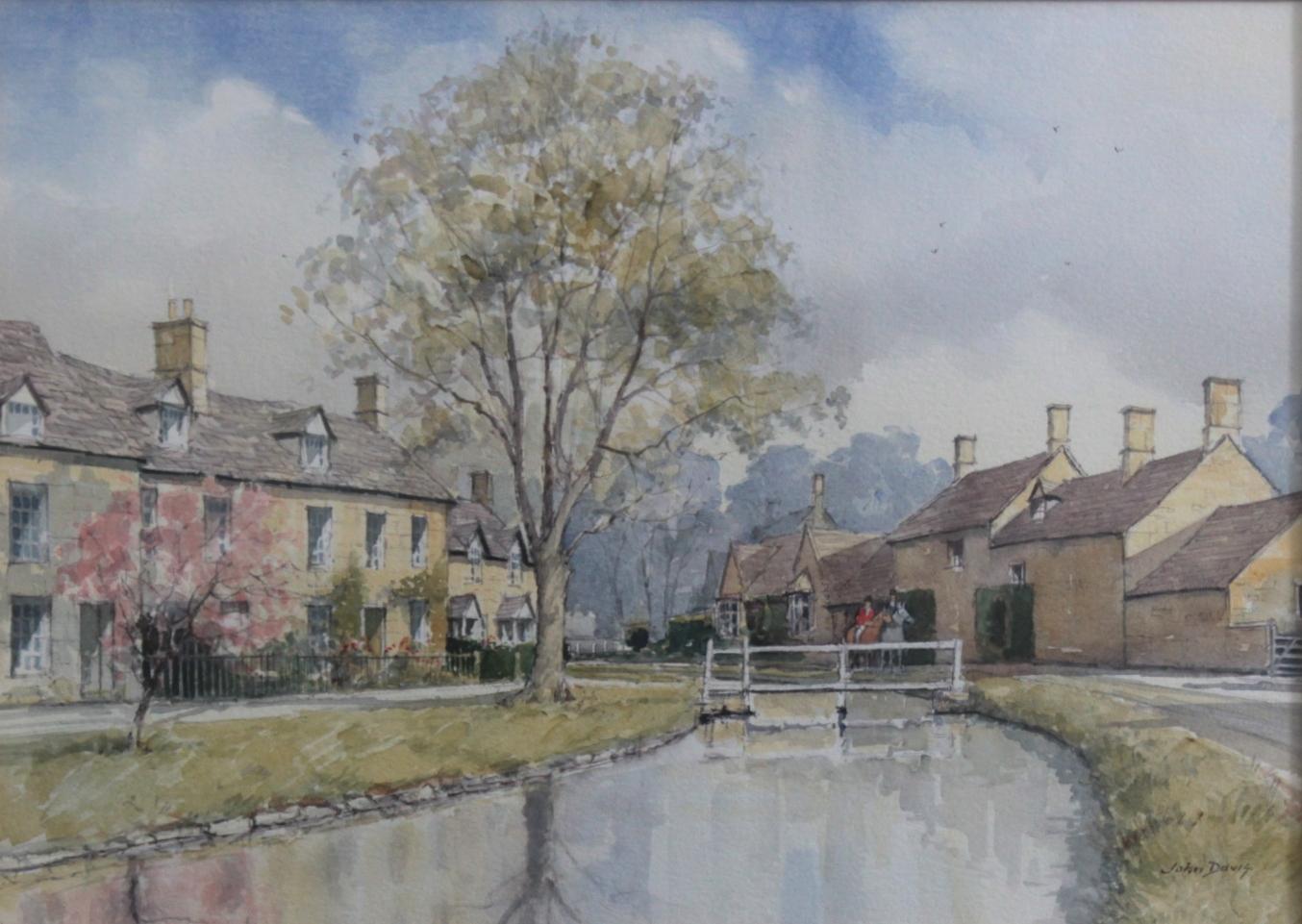 John Davis (XX-XXI) – 'The Village of Stanton'-2