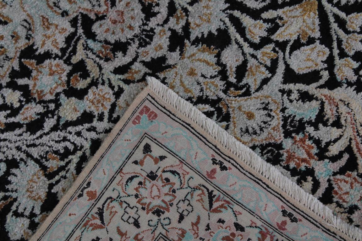 Esfahan Seidenteppich 2. Hälfte 20 Jh.-3