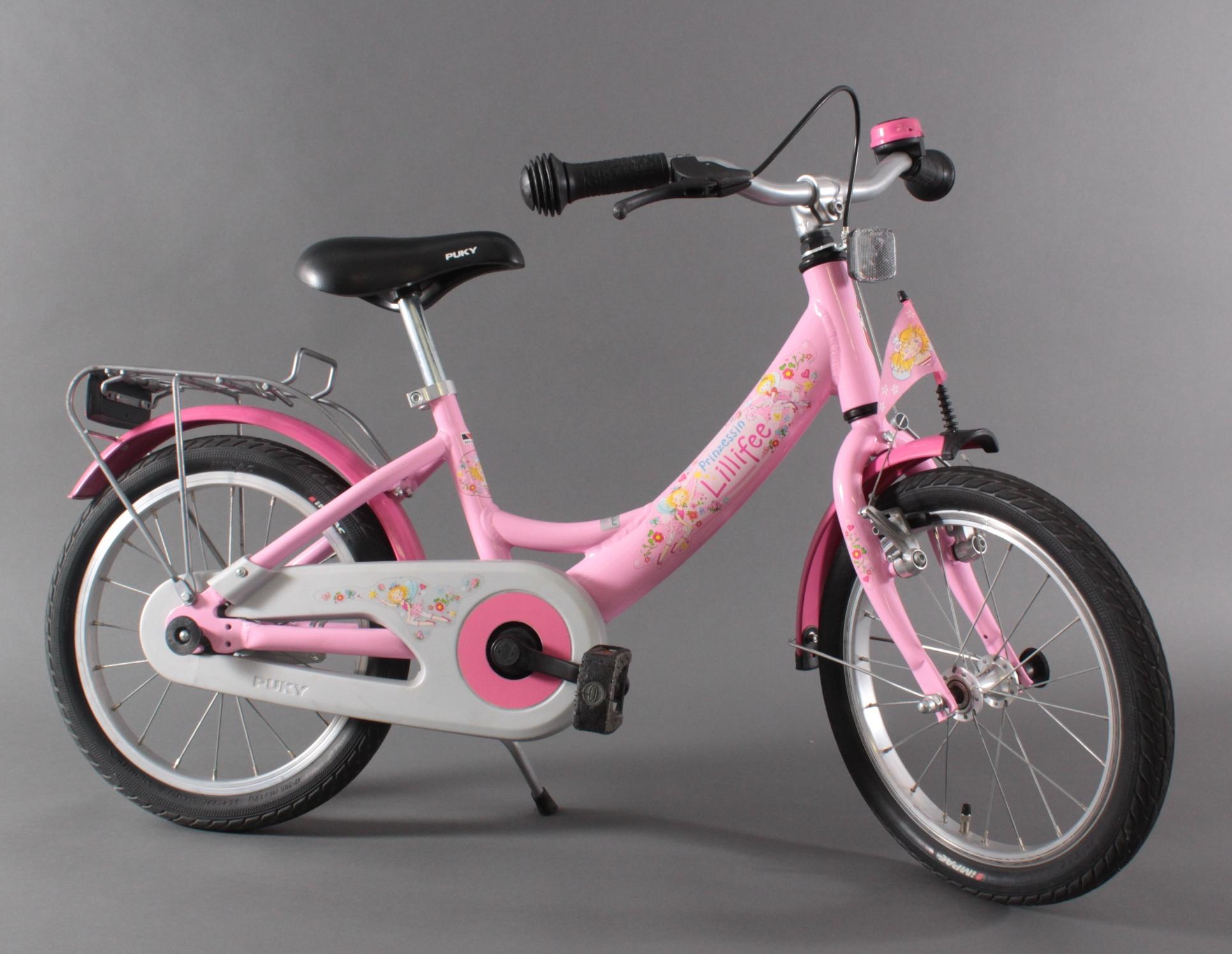 Prinzessin Lillifee Kinder-Fahrrad von Puky