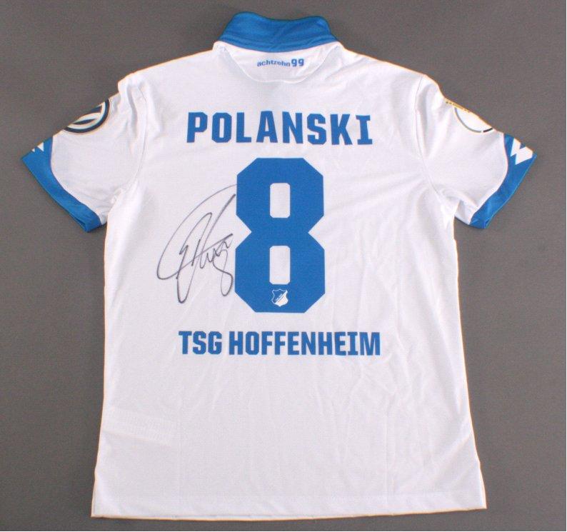 TSG Hoffenheim Trikot mit original Unterschrift von Eugen Polanski