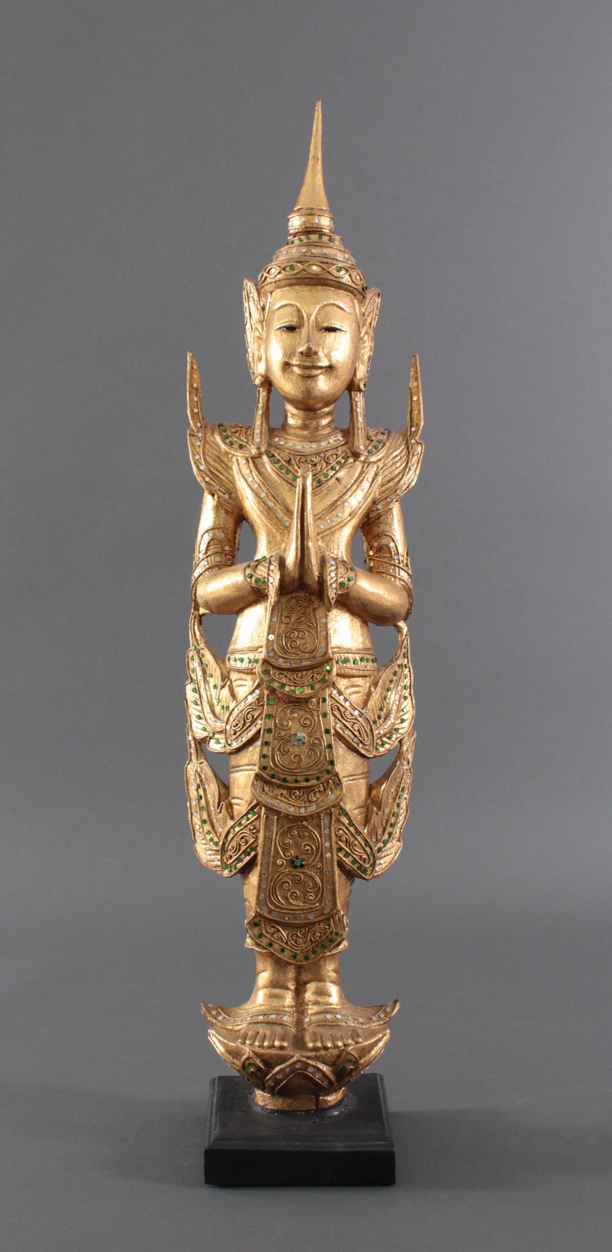 Thailändische Tempelwächter aus der 2. Hälfte des 20. Jahrhunderts