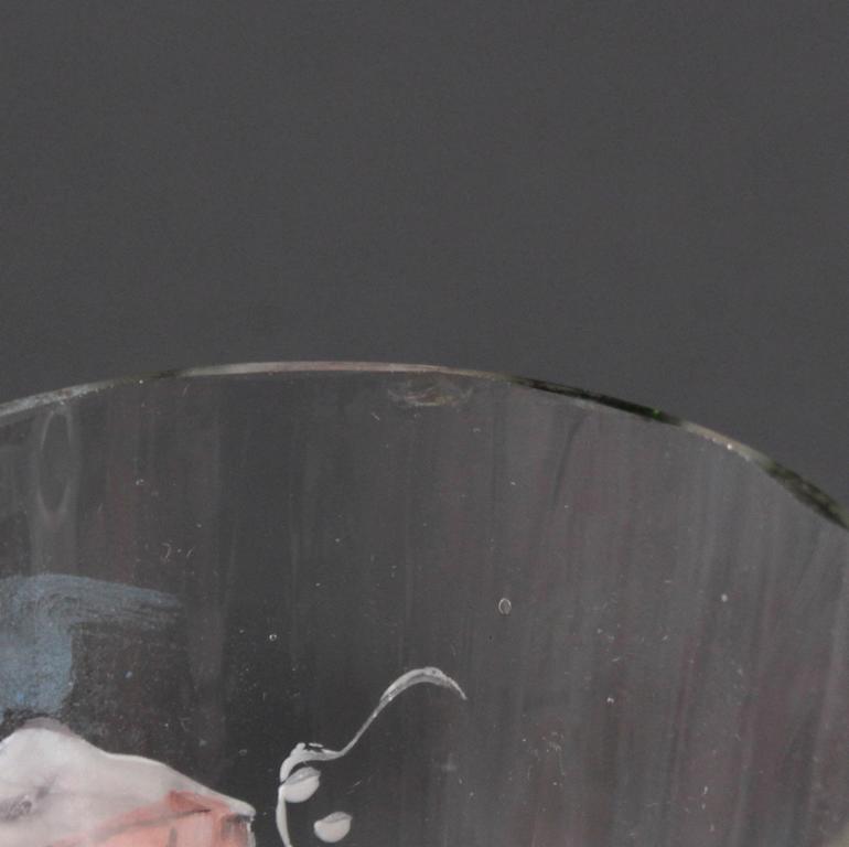 3 antike Weinkelche aus dem 19. Jahrhundert-5