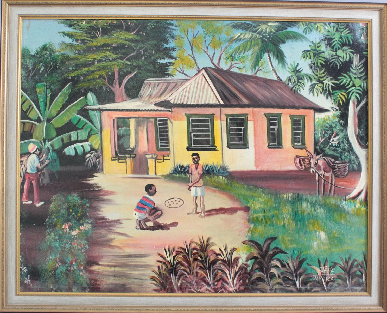 Jeff (XX), 'Jamaica'. Naive Kunst