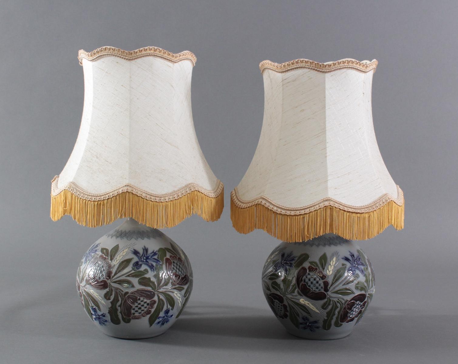 Paar Keramik Tischlampen – Betschdorf