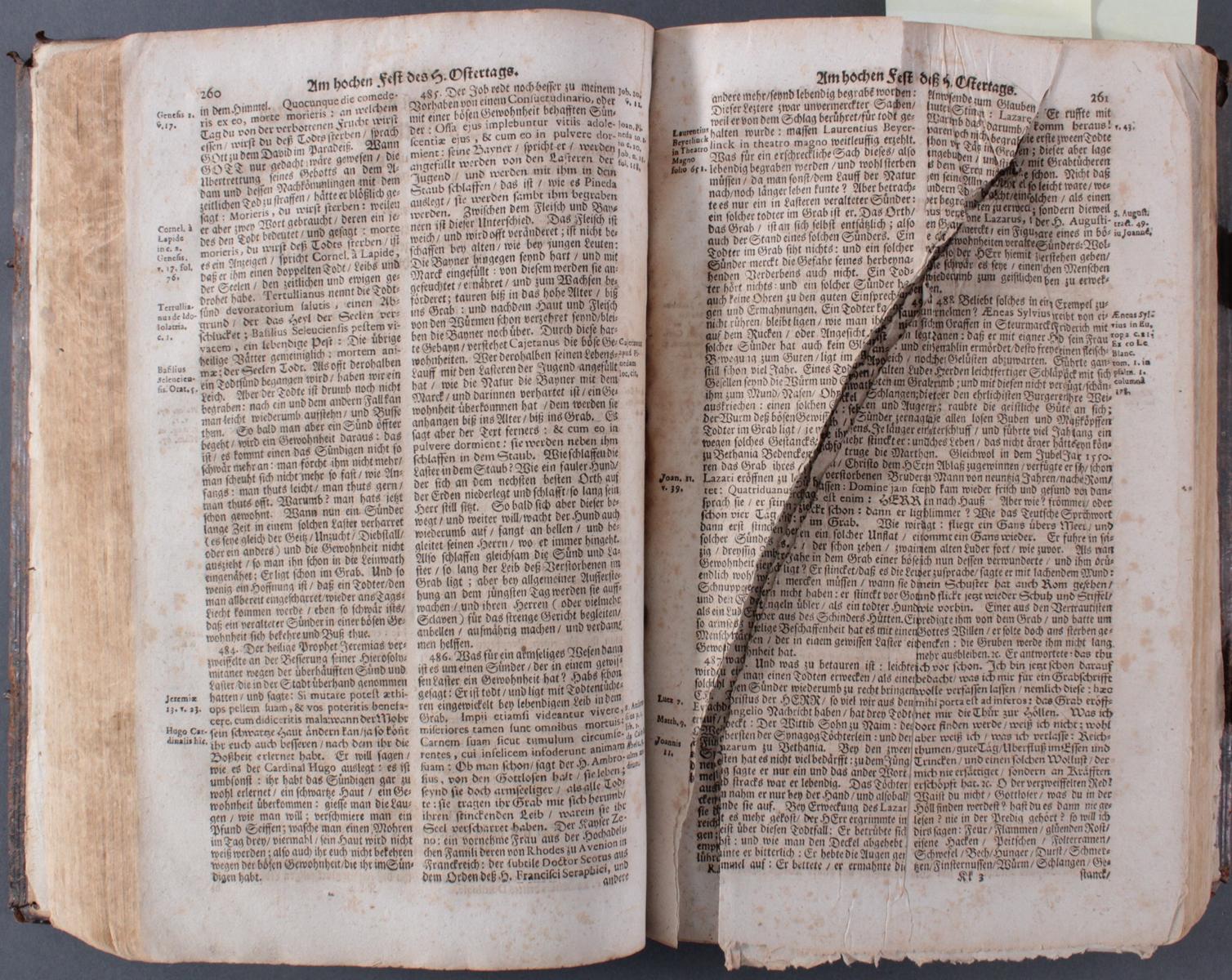 Bibel in 2 Teilen von 1697/98-3