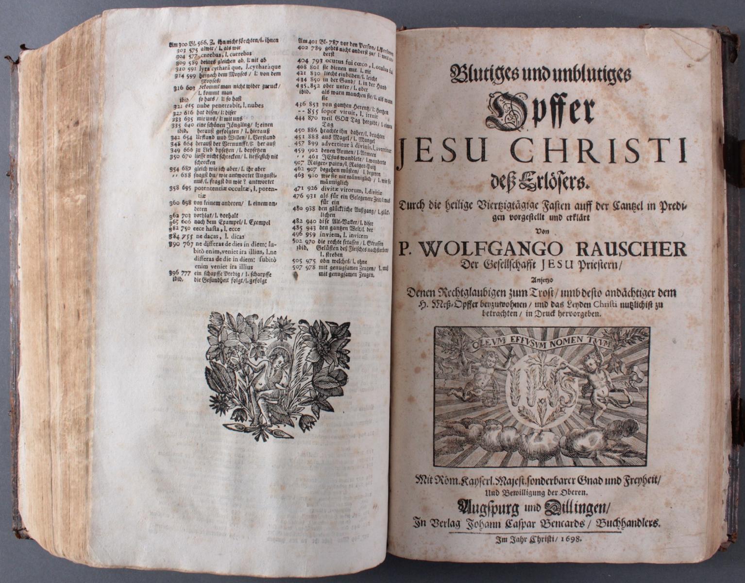 Bibel in 2 Teilen von 1697/98-5