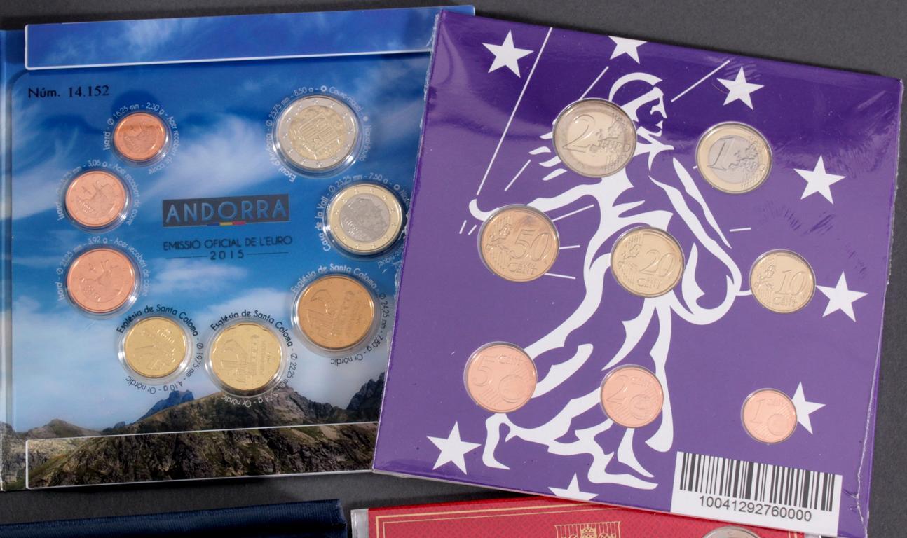 31 Euro KMS, 2018 mit einigen Kleinstaaten und Sondermünzen-4