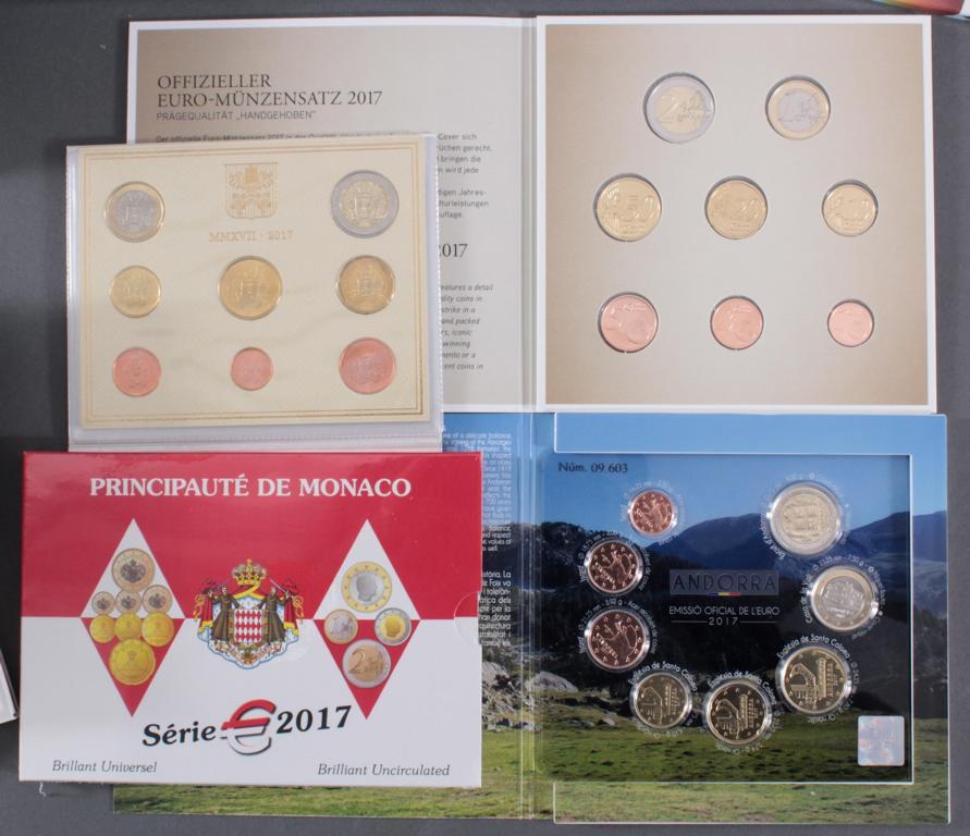 23 Euro KMS, 2017 mit einigen Kleinstaaten und Sondermünzen-2