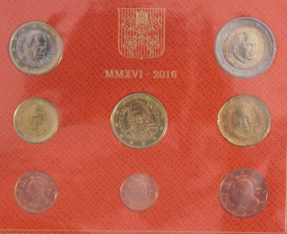 27 Euro KMS, 2016 mit einigen Kleinstaaten und Sondermünzen-3