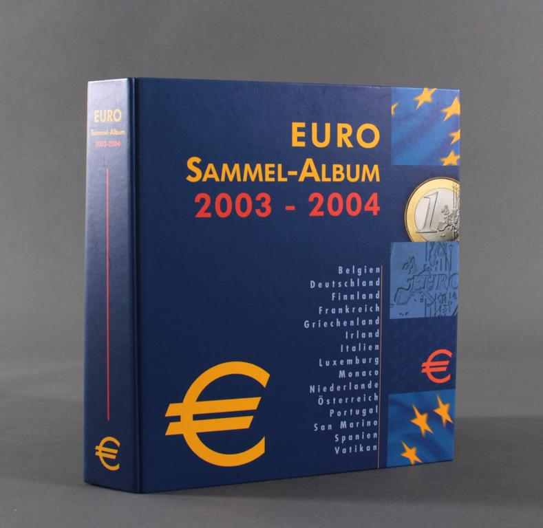 Euro Kursmünzen 2003-2004