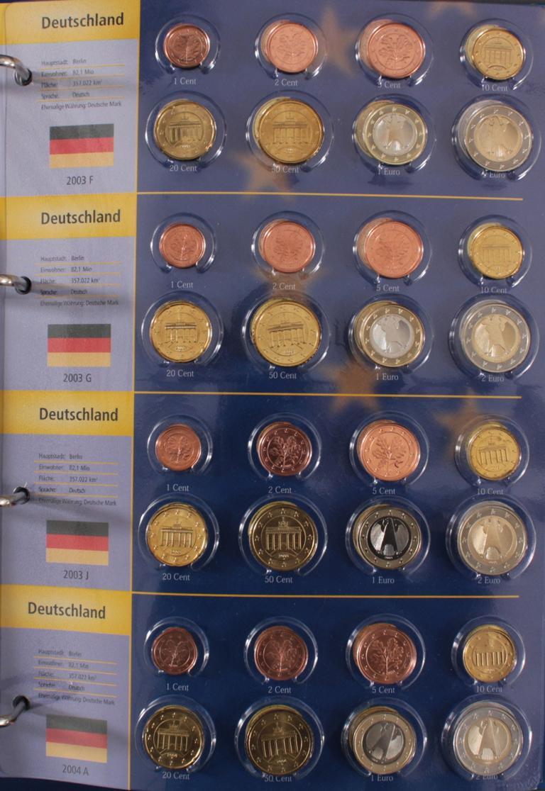 Euro Kursmünzen 2003-2004-3