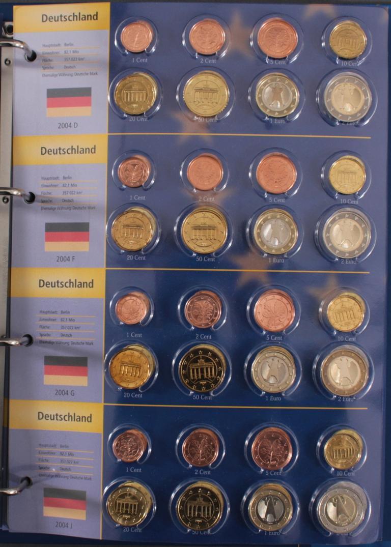 Euro Kursmünzen 2003-2004-4