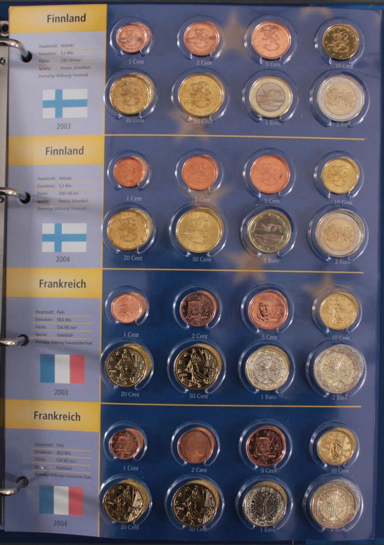 Euro Kursmünzen 2003-2004-5