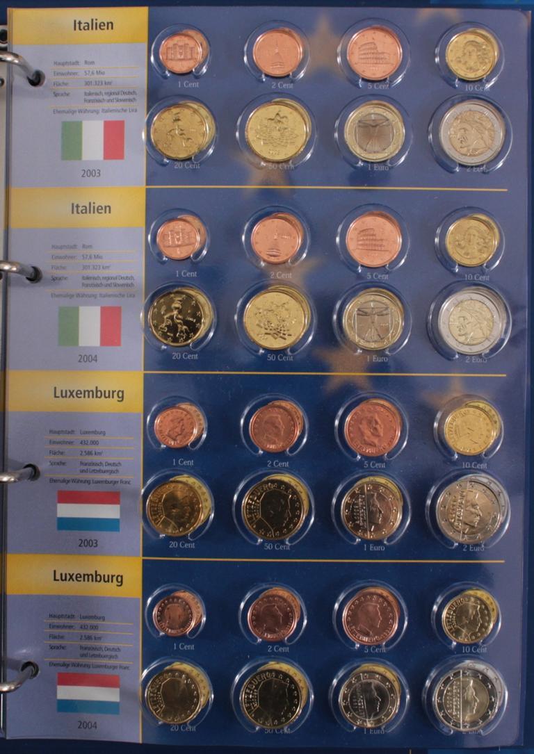 Euro Kursmünzen 2003-2004-7