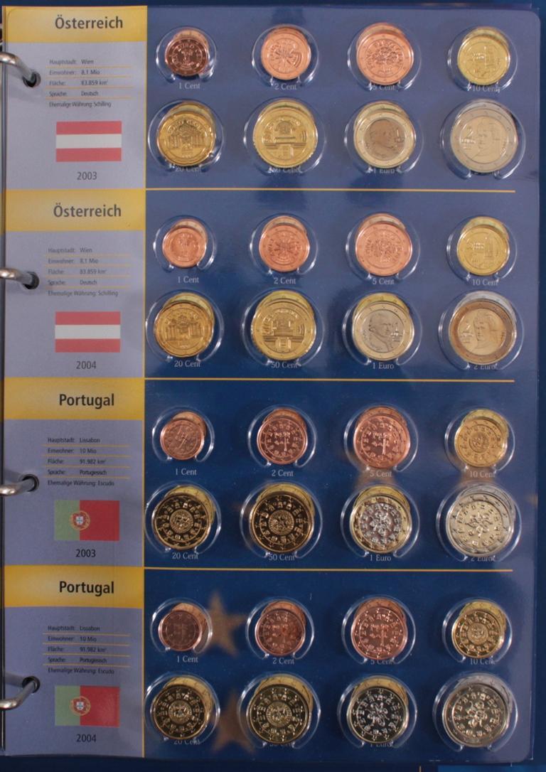 Euro Kursmünzen 2003-2004-8
