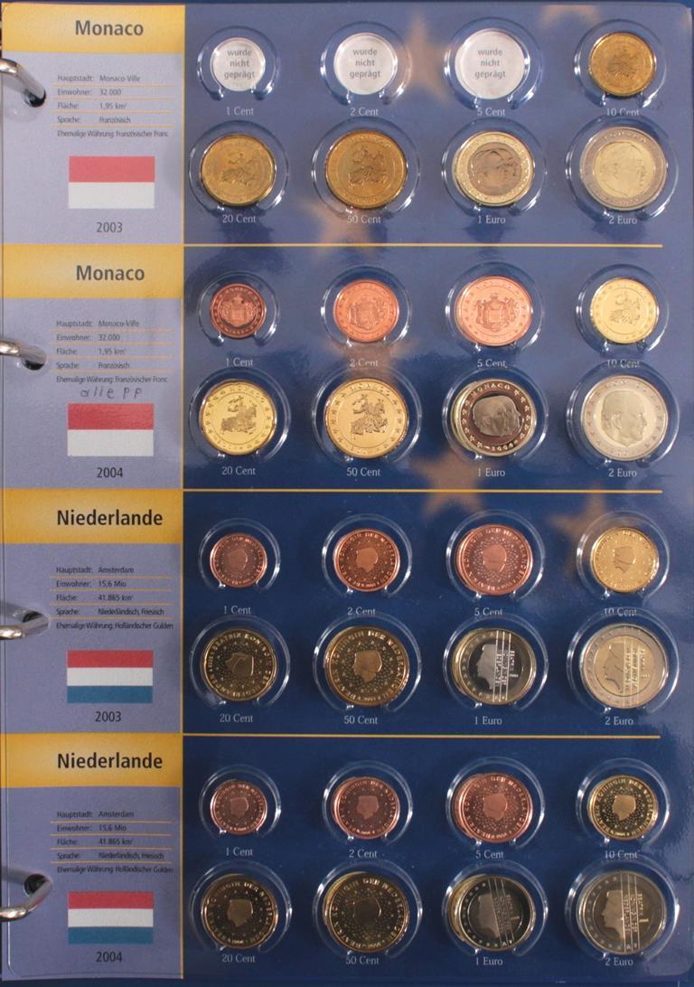 Euro Kursmünzen 2003-2004-10