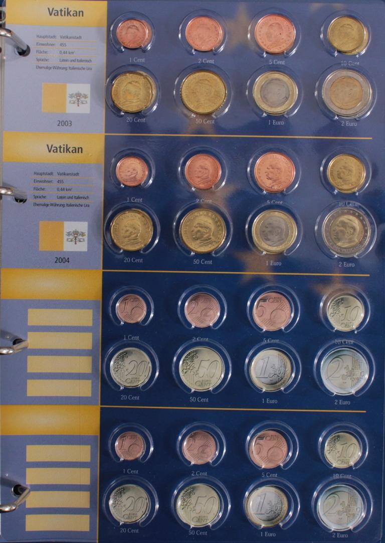Euro Kursmünzen 2003-2004-11