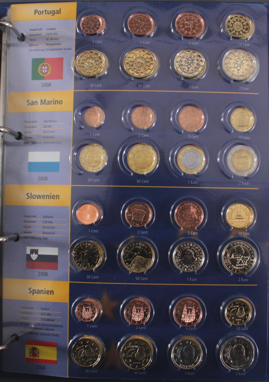 Euro Kursmünzen 2008-2