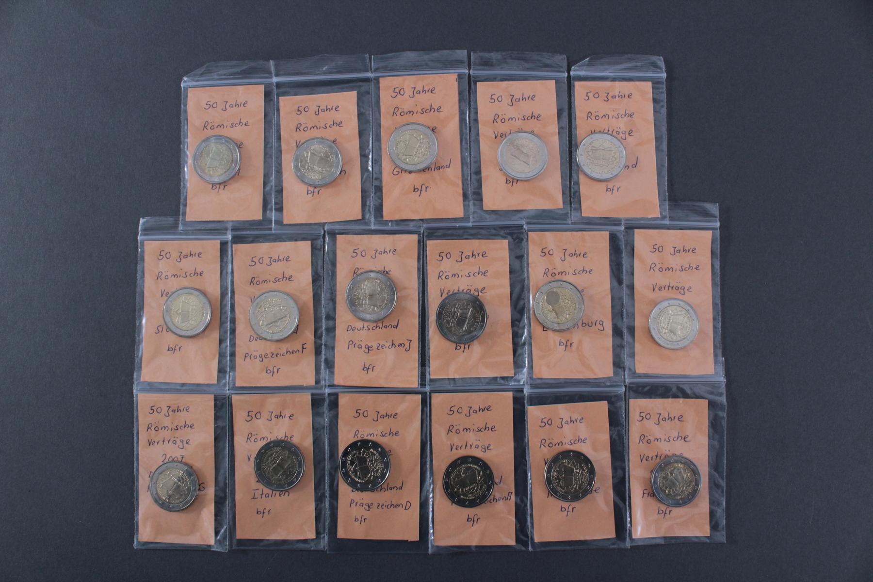 2 Euro 2007 – 50 Jahre Römische Verträge