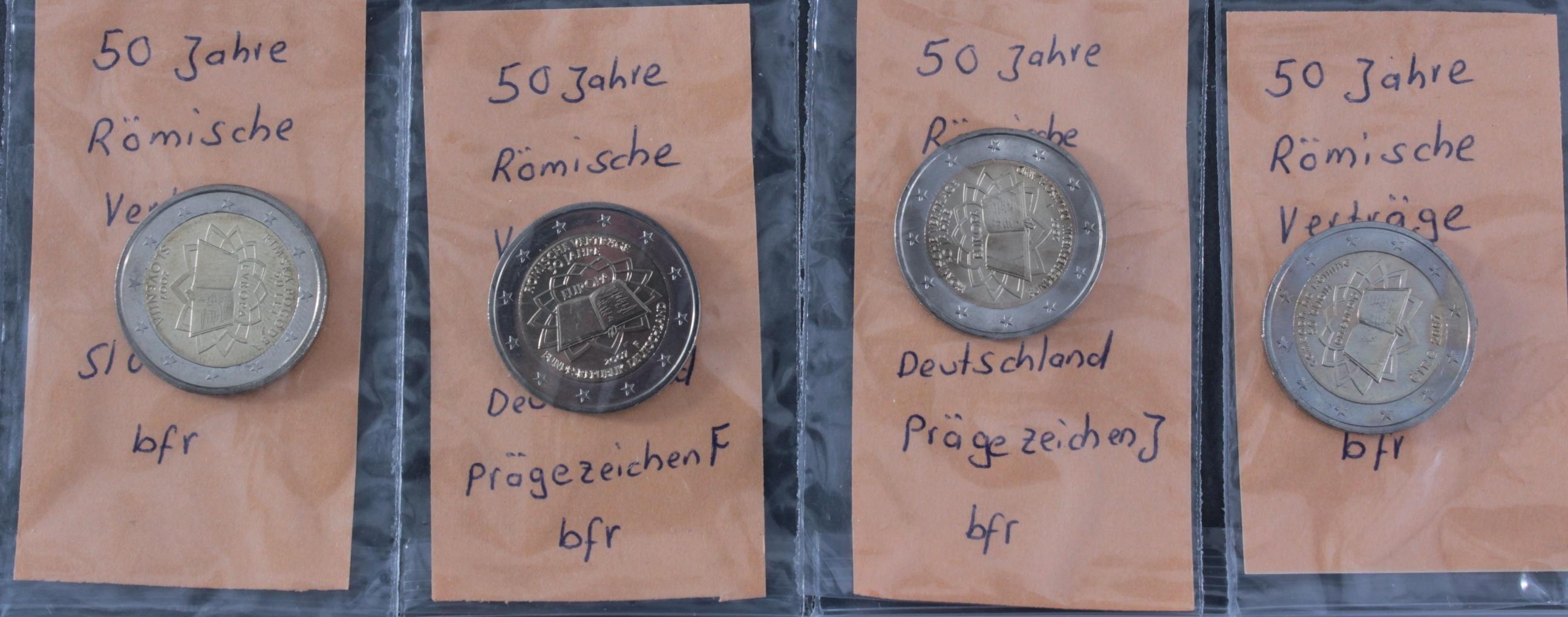 2 Euro 2007 – 50 Jahre Römische Verträge-3