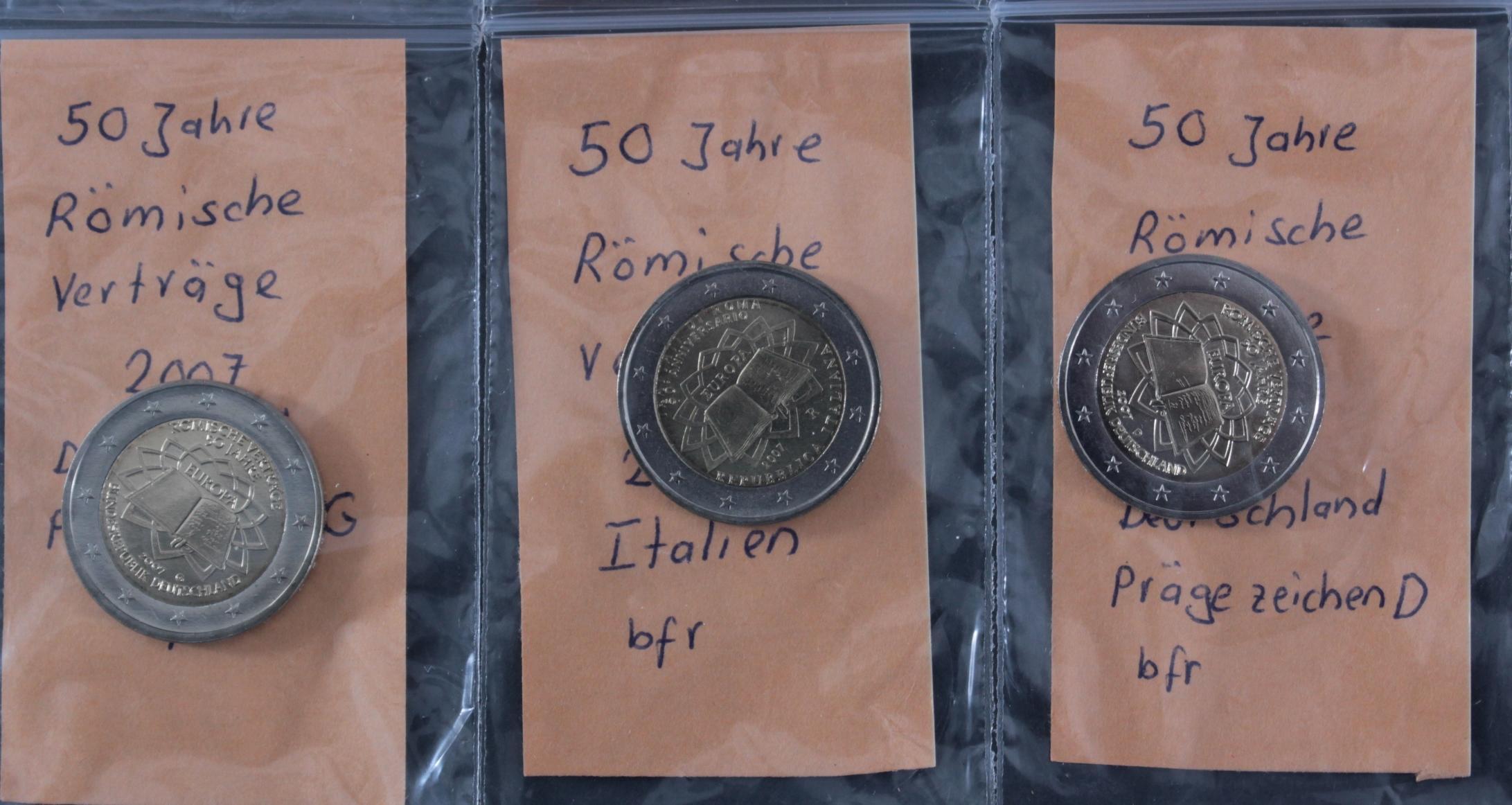 2 Euro 2007 – 50 Jahre Römische Verträge-4