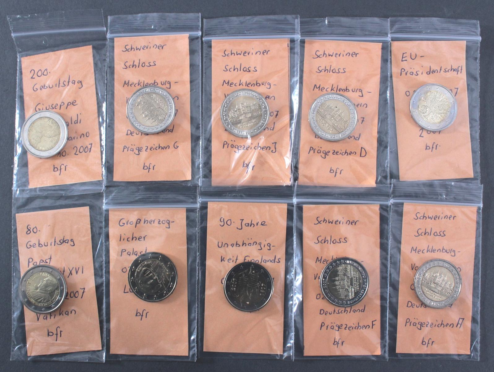 2 Euro 2007 – Sondermünzen