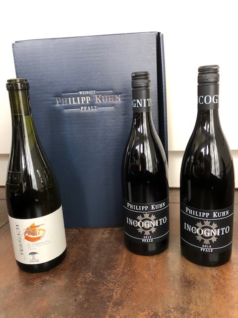 3 Flaschen Wein vom Weingut Kuhn, Pfalz