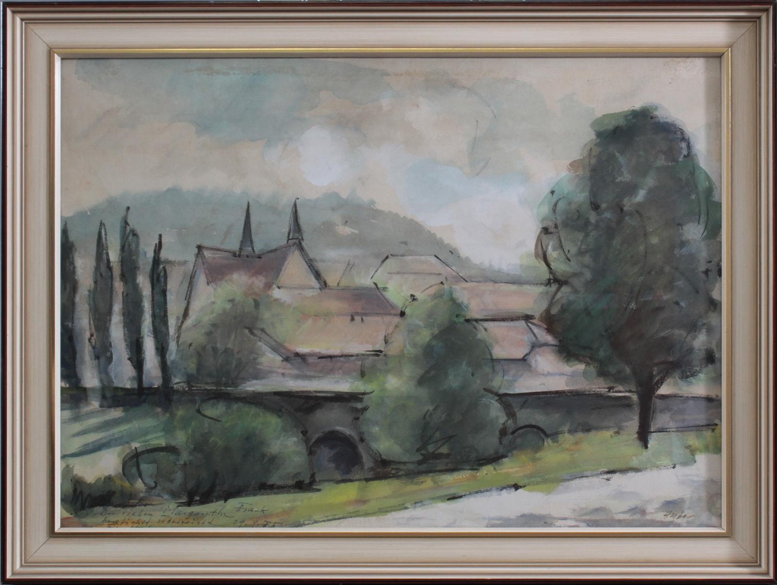 Huber, 'Stadtansicht'