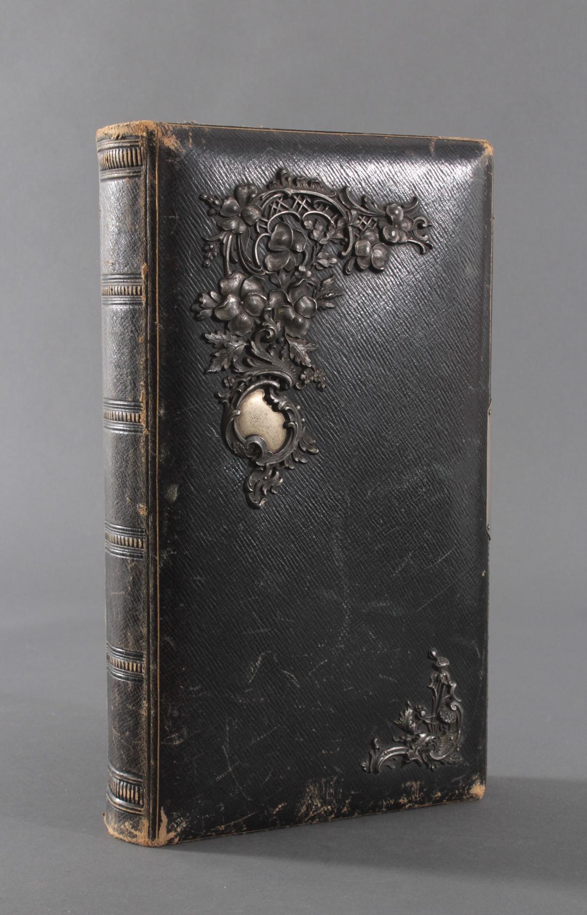 Historismus Fotoalbum um 1880