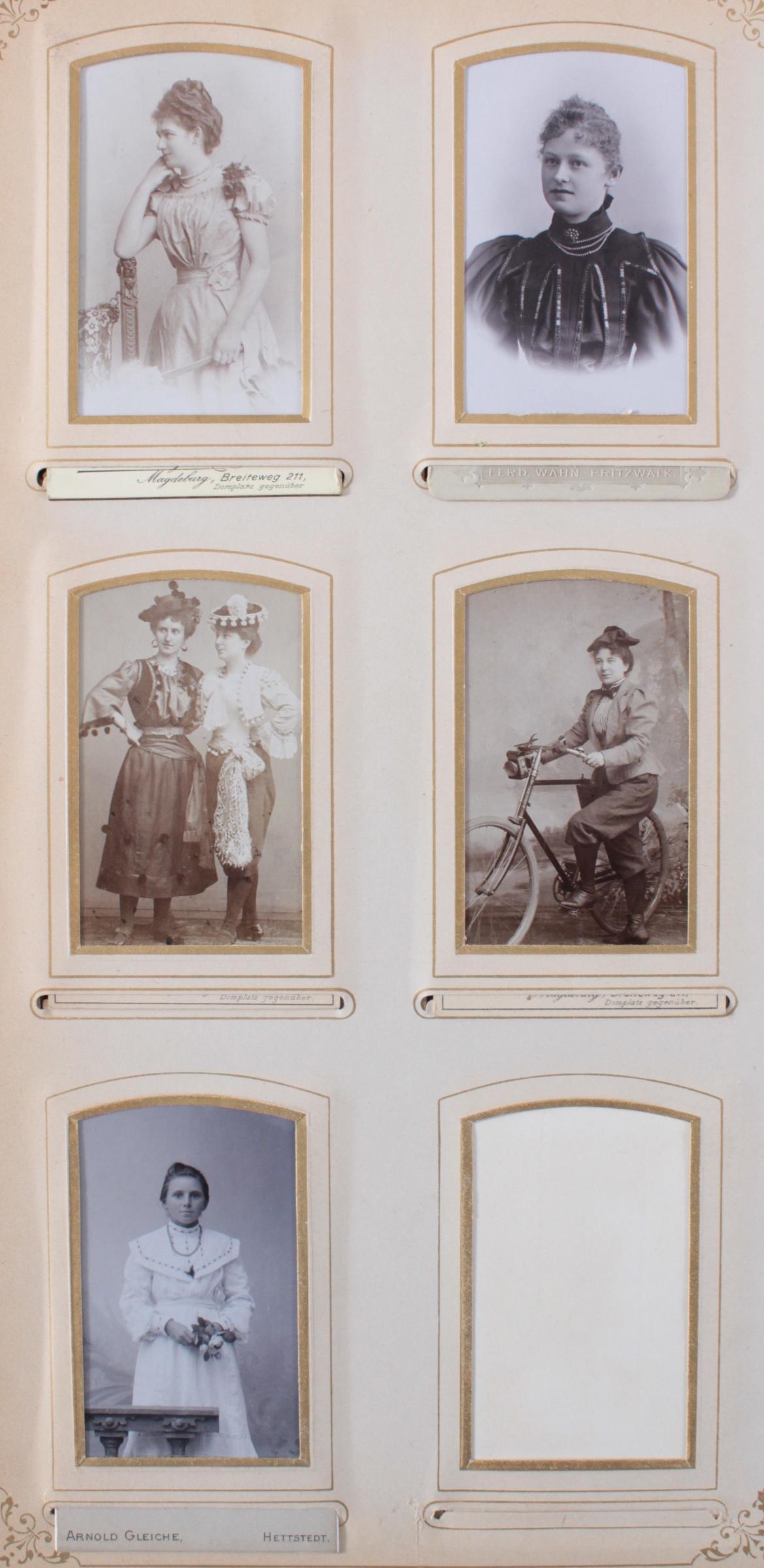 Historismus Fotoalbum um 1880-4